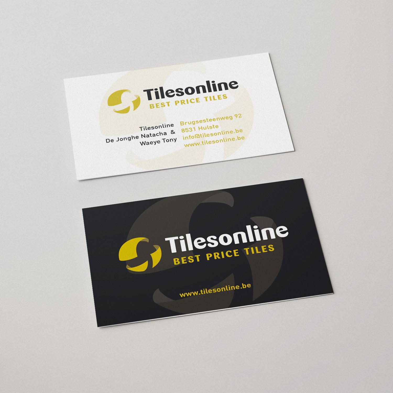 Visitekaartje voor Tilesonline